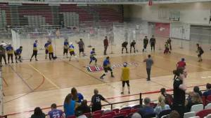 Dodgeball players from across Canada compete in Winnipeg for nationals