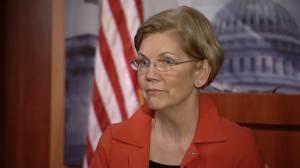 Elizabeth Warren calls Trump's 'Pocahontas' comment at event honouring Native American veterans 'disturbing'