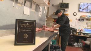 Oshawa man wins Ontario's 'finest butcher' competition