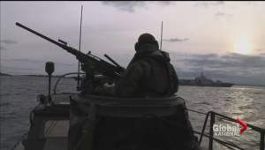 Sweden's submarine search