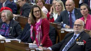 Freeland slams Conservatives for comparing Canada to governments of Putin and Maduro