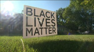 'Black Lives Matter' yard signs increasing in popularity