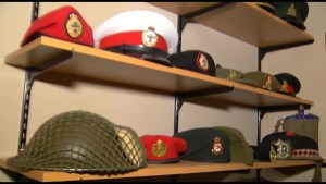 Peterborough boy has military museum in his basement