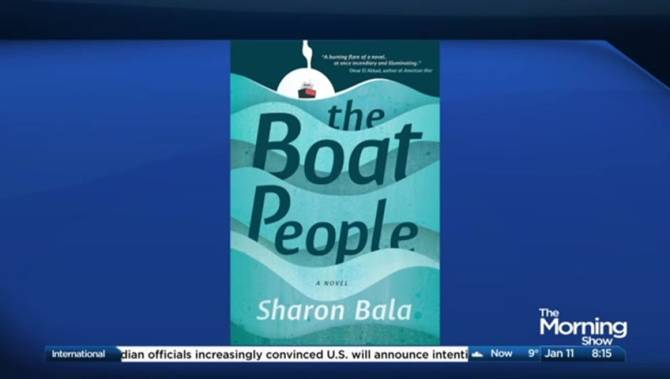 Click to play video: Drawing inspiration from families caught in the refugee system in 'The Boat People'