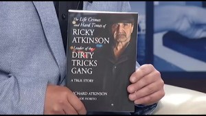 Long-time criminal Ricky Atkinson reveals his life's story in a new book that is a tale of redemption.