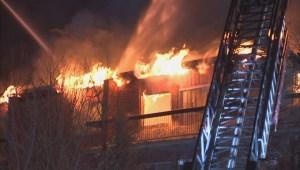 5-alarm fire destroys Saint-Hubert apartment building