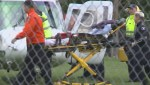 Toddler rescued from backyard pond