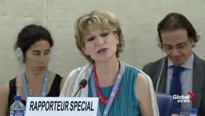 U.N. Special Rapporteur calls for Saudi Arabia to release those imprisoned for free speech