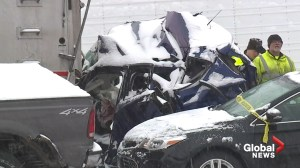 1 dead, many injured in massive pile-up on Missouri highway