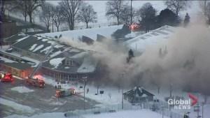 Four alarm fire causes significant damage to Scarborough rec centre