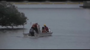 Swimmer rescued on Little Lake in Peterborough