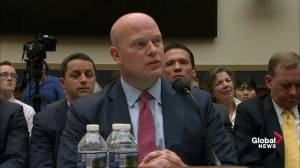 Whitaker believes his criticism of Mueller probe did not influence his AG appointment
