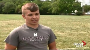 Teammates speak out after 14-year-old dies during football practice of rare condition
