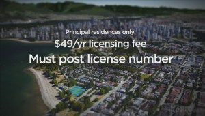 Vancouver's new Airbnb bylaws take effect April 19