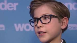 """Wonder"" actor screens movie with Toronto's SickKids Hospital patients"