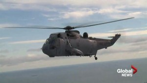 Sea King helicopters finally ready for full retirement on Canada's East Coast
