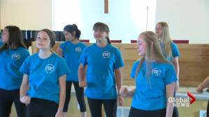 Cardston Girls Choir represents Canada in world competition