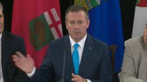 Kenney offers his thoughts after Western Canada premiers meeting