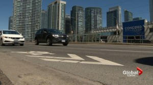 Residents living in downtown Toronto's City Place concerned with increased traffic congestion