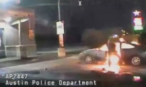 Texas police intervene in attempted car explosion suicide