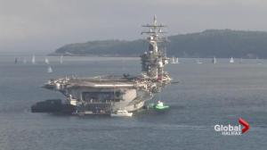 Record setting weekend for Port of Halifax with Aircraft Carrier, cruise ship visits