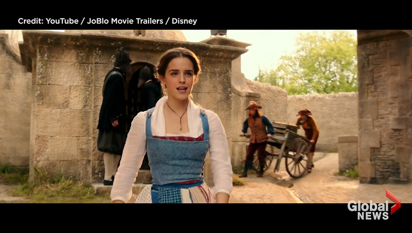 Emma Watson Sings Belle In Latest Beauty And The Beast Clip National Globalnews Ca