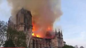 Fire engulfs 850-year-old Notre-Dame Cathedral in Paris