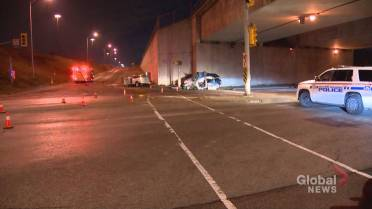 Man dead after 2-vehicle crash in Ajax, woman faces impaired driving