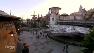 EXCLUSIVE: Liem gets first look at Star Wars: Galaxy's Edge at Disneyland