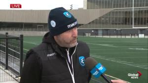 FC Edmonton soccer team gearing up for first home game of the season