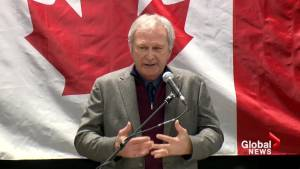 Blaine Higgs voices support to 'United We Roll' truck convoy in Ottawa