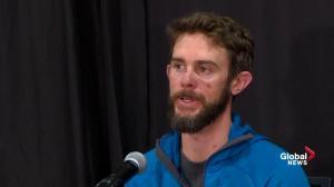 Colorado runner who fought off mountain lion describes suffocating animal