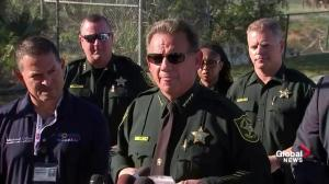 Broward County Sheriff says they've had about 20 calls about suspect