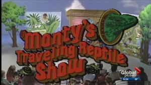 Monty Krizan of Monty's Traveling Reptile Show passes away