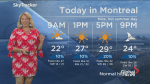 Global News Morning weather forecast: Monday, July 30th 2018