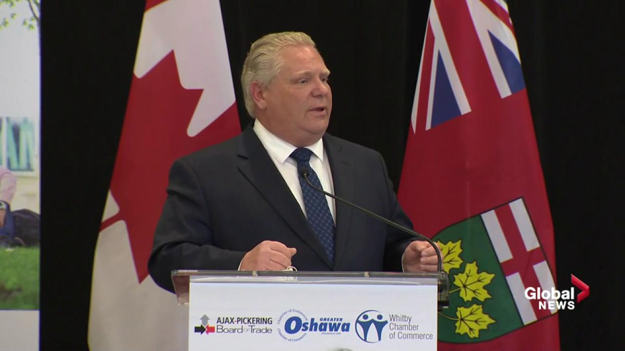 Doug Ford and Blaine Higgs to discuss carbon tax during Toronto meeting
