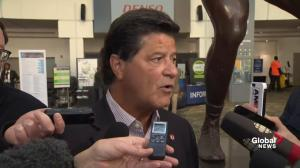Jerry Dias pleased to hear government's support over GM closure