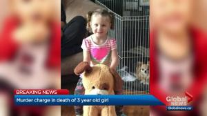 Boyfriend of Calgary toddler's mother charged with 2nd-degree murder in child's death