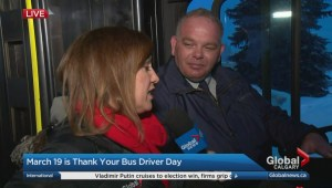March 19 is Thank Your Driver Day