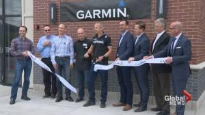 Global tech giant Garmin officially calls Alberta home