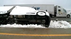 Heavy winds, snow and rain pummel California