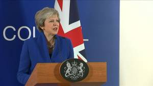 EU leader, Theresa May react to proposed Brexit deal both parties say is best deal possible