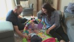 Despite health hurdles, Edmonton baby has 'fighting spirit'