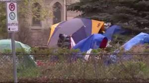 Polarizing debate over tent cities in Canada