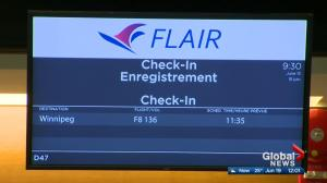 Flair Airlines to move headquarters to Edmonton