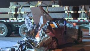 Man, 56, victim of the latest fatal crash involving a tractor trailer.