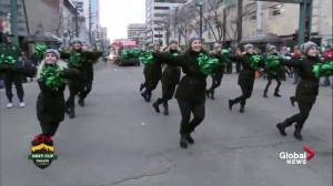 106th Grey Cup Parade takes over downtown Edmonton