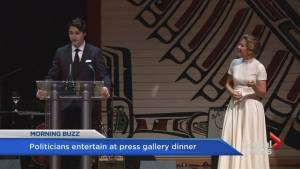 Politicians entertain at Press Gallery dinner