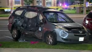 1 dead, 3 injured after van and tractor-trailer collide in Brampton