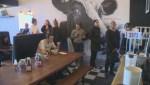 Vegan activists and restauranteurs being noticed in Kelowna